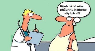 Bị trĩ nên uống thuốc hay phẫu thuật